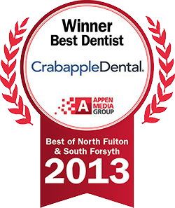 Winner Best Dentist - Crabapple Dental - logo