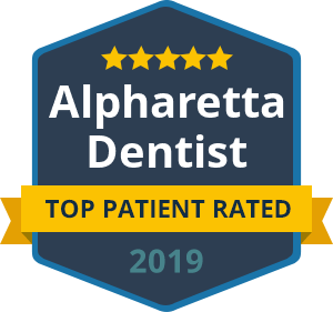 Alpharetta Top Patient Rated 2019 badge
