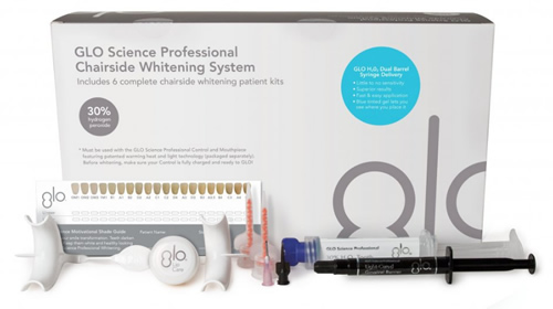 Box with GLO Science Professional Teeth Whitening